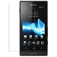 Sony Xperia Sola folie de protectie Guardline Ultraclear