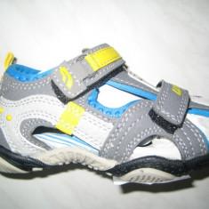 Sandale sport copii unisex WINK;cod KSL4394-2;marime:24-29 - Sandale copii Wink, Marime: 25, 26, 27, Culoare: Gri, Piele sintetica