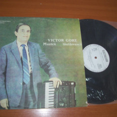 VICTOR GORE-MUZICA LAUTAREASCA disc vinil LP vinyl pick-up pickup