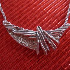COLIER - LANT CU MEDALION / PANDATIV ARGINT 925 - Colier argint
