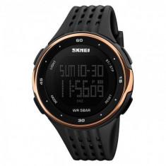 Ceas unisex SKMEI Military Sport cronometru, afisare luminoasa, alarma