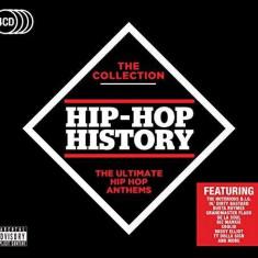 V/A - Hip-Hop History ( 4 CD ) - Muzica Hip Hop