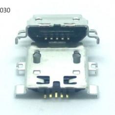 Mufa incarcare microUSB mu1030 5 pini mama conector alimentare