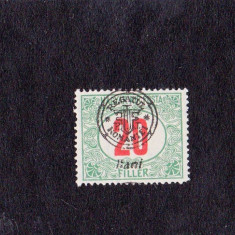 1919 Oradea 20 bani porto - Timbre Romania, Nestampilat