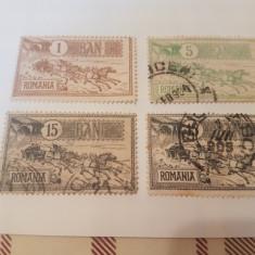 Romania 1903 caisorii/ 4v. stampilate++ - Timbre Romania