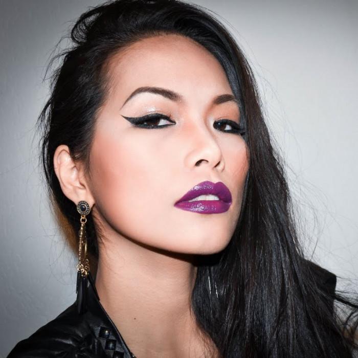 Ruj Mov Pruna Technic Colourmax Lipstick Deep Purple Arhiva Okaziiro