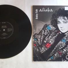 Alisha - Baby Talk (1985, Vanguard) disc vinil Maxi Single - Muzica Pop