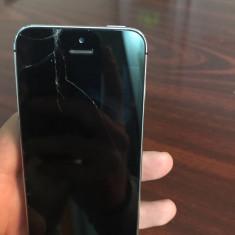 iPhone 5S Apple neverlock 16gb, Gri, Neblocat
