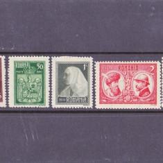 L.P 72 Romania 1922 Incoronarea regelui MH. - Timbre Romania, Nestampilat