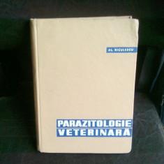PARAZITOLOGIE VETERINARA - AL. NICULESCU - Carte Medicina veterinara