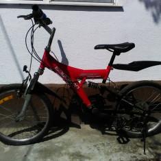 Bicicleta - Bicicleta copii DHS, 16 inch, 24 inch, Numar viteze: 18