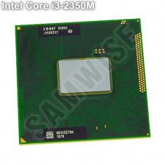 Procesor Laptop, Intel Core i3 2350M, 2.3GHz, 3MB SmartCache, FSB 1333MHz, 2000-2500 Mhz, Numar nuclee: 2