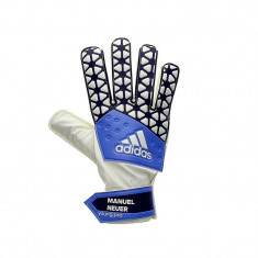 Manusi portar Young Pro Manuel Neuer blue - white AH7792 - Echipament portar fotbal Adidas