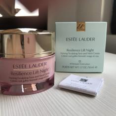 Estee Lauder Resilience Lift Night crema de noapte pentru fata si gat - Crema antirid