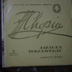 Vinil chopin lotx - Muzica Clasica Altele