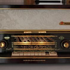 Radio lampi Nordmende Fidelio 59/ 3D, complet restaurat - Aparat radio