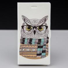 Husa FlipCover Stand Magnet Design OWL Allview X1 Xtreme Mini - Husa Telefon