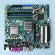 Placa de baza HP DC7100 DDR1 PCI Express Video onboard socket 775, Pentru INTEL, LGA775, Contine procesor, MicroATX
