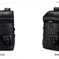 POLO VICUNA - geanta/rucsac din piele  PU 48x29x19 cm