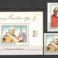 Polonia.1983 Vizita Papei Ioan Paul II  SP.286
