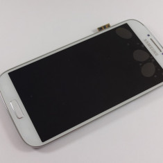 Samsung S4 i9505 i9515 Display Original nou complet touchscreen si rama ALB - Display LCD Samsung, Samsung Galaxy S4