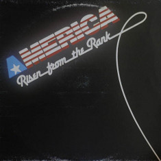 Risen From The Rank - America (1987, Media) disc vinil Maxi Single italo-disco - Muzica Pop