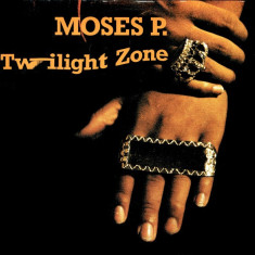 Moses P. - Twilight Zone (1988, Logic) disc vinil Maxi Single hip-hop - Muzica Hip Hop