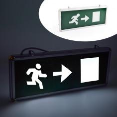 Panou LED indicator EXIT Stanga/Dreapta, cu acumulator