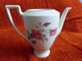 Ceainic / cafetiera din portelan H&Co Selb Bavaria Heinrich, marcaj numeric