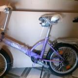 Sport - Bicicleta pliabila, 13 inch, 12.5 inch, Numar viteze: 1