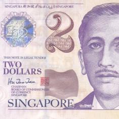 Bancnota Singapore 2 Dolari (1999) - P38 UNC - bancnota asia