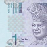 Bancnota Malaezia 1 Ringgit (2010) - P39b UNC (3 litere in serie) - bancnota asia