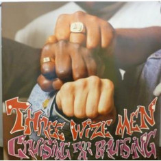Three Wize Men - Cruising for a bruising (1988) disc vinil Maxi Single hip-hop - Muzica Hip Hop