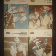 CERVANTES - DON QUIJOTE  4 volume, stare impecabila