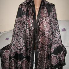 Esarfa XXL/ pareo matase naturala Zara, ca noua - Esarfa, Sal Dama Zara, Culoare: Multicolor, Marime: Marime universala