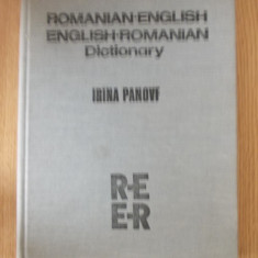 ROMANIAN ENGLISH/ENGLISH-ROMANIAN DICTIONARY- IRINA PANOVF Altele
