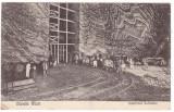 #2108- Romania, Ocnele Mari , carte postala circulata 1929: Interiorul Salinelor