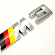 Emblema BMW M3 sau M5 spate metalica - Embleme auto