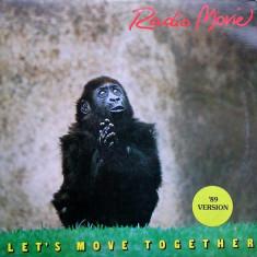 Radio Movie - Let's Move Together ('89 Vers.) disc vinil Maxi Single italo-disco - Muzica Pop