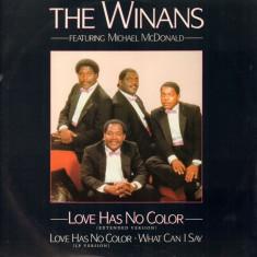 The Winans - Love has no color (1987, Quest) disc vinil Maxi Single funk/soul - Muzica R&B