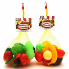 Set Alimente Legume Sau Fructe Plastic La Saculet 17 Piese