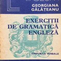 EXERCITII DE GRAMATICA ENGLEZA - Georgiana Galateanu - Curs Limba Engleza