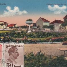 TECHIRGHIOL BAILE MOVILA PARCUL DE PE BULEVARDUL TCV CIRCULATA 1936 - Carte Postala Dobrogea dupa 1918, Printata