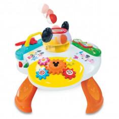 Masuta De Activitati Interactiva Mickey Mouse Kiddieland - Spatiu de joaca