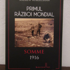 SOMME 1916.PRIMUL RAZBOI MONDIAL - Istorie