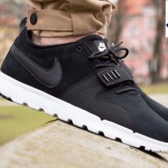"UNICAT!  ADIDASI Nike SB Trainerendor ""BLACK "" leather nr 40"