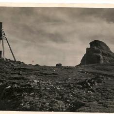 Bucegi - Varful Omu - lot 3 carti postale - interbelice, Necirculata, Fotografie, Romania 1900 - 1950