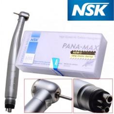 Turbina NSK PANA MAX 4 gauri E-generator LED Push Button Rulmenți Ceramici - Echipament cabinet stomatologic
