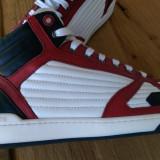 Sneakers MOSCHINO model 56109 marimea 42 - Ghete barbati Moschino, Culoare: Alb