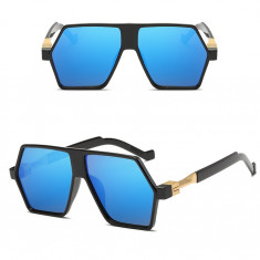 Ochelari De Soare Retro / Aviator Supradimensionati - Protectie UV 100% - 4